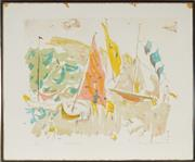 Sale 8953 - Lot 2026 - Mary McQueen (1912 - 1994) - Westerly, 1973 57 x 70 cm (frame: 60 x 72 x 2 cm)