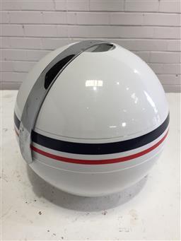 Sale 9151 - Lot 1099 - Vintage Guzzini ice bucket (d:19cm)