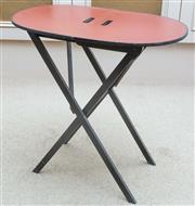 Sale 8800 - Lot 5 - A small painted timber folding table