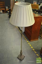 Sale 8398 - Lot 1075 - Brass Standard Lamp