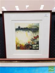 Sale 8491 - Lot 2009 - Jorg Schmeisser - Untitled, 1980 (Japan) 43 x 39cm