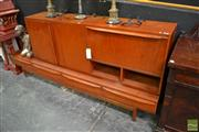Sale 8489 - Lot 1003 - Vintage High Back Sideboard