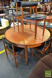 Sale 8532 - Lot 1090 - McIntosh Table and 6 Chairs