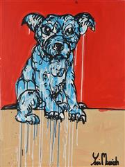Sale 8826A - Lot 5023 - Yosi Messiah (1964 - ) - My Baby Dog 100 x 75cm