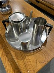 Sale 9002 - Lot 1093 - Stelton Danish Arne Jacobsen Coffee Set