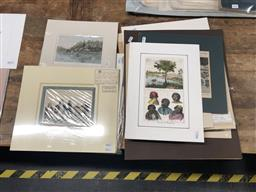 Sale 9147 - Lot 2058 - a good selection of engravings consisting mostly of Scenes of old Sydney, (A.F) -