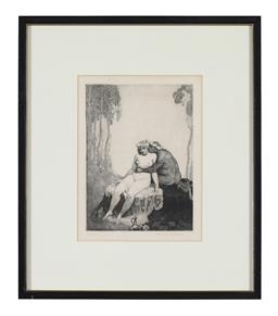 Sale 9245J - Lot 97 - Norman Lindsay - Untitled signed lower right