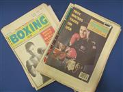Sale 8419A - Lot 96 - Australian Boxing - a box of World of Boxing, all 1990s