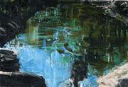 Sale 8449A - Lot 534 - Euan MacLeod (1956 - ) - Untitled, 1994 (Pool) 32 x 47cm