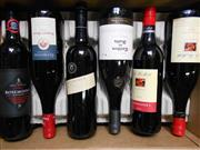 Sale 8519W - Lot 78 - 6x Assorted Red Wines incl. St Hallett, Rosemount Estate & Gemtree