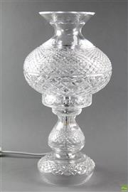 Sale 8594 - Lot 68 - Electric Waterford Crystal Cut Lamp