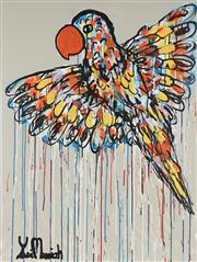 Sale 8826A - Lot 5082 - Yosi Messiah (1964 - ) - Orange Flight 100 x 75cm