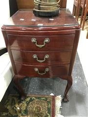 Sale 8893 - Lot 1036 - Pair of Queen Anne Style Bedside Chests