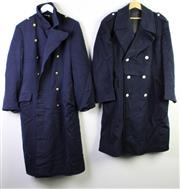 Sale 8952M - Lot 632 - A Group Of Naval Longcoats And Servicemen Uniforms Incl American