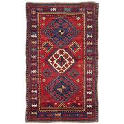 Sale 8971C - Lot 37 - Antique Caucasian Kazak Rug, Circa 1940, 125x280cm, Handspun Wool
