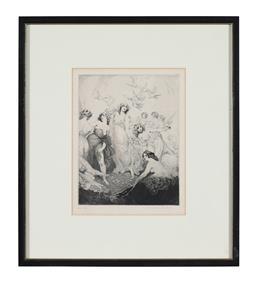 Sale 9245J - Lot 98 - Norman Lindsay - Untitled signed lower right