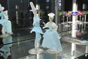 Sale 8288 - Lot 2 - Murano Glass Pair of Carnival Dancers