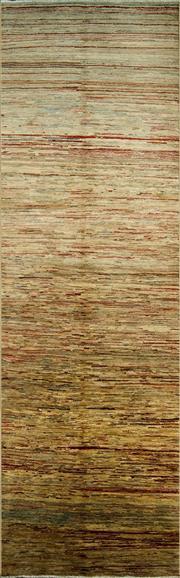 Sale 8335C - Lot 33 - Afghan Chobi Stripi 310cm x 90cm