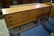 Sale 8451 - Lot 1079 - 1960s Teak Sideboard