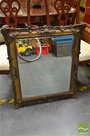 Sale 8489 - Lot 1031 - Gilt Framed Mirror