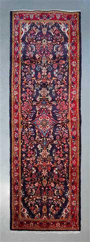 Sale 8493C - Lot 55 - Persian Saruq 355cm x 114cm
