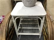 Sale 8893 - Lot 1047 - Painted Cane Side Table