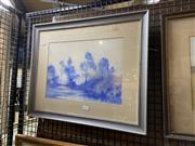 Sale 8914 - Lot 2063 - John Webeck - Landscape, watercolour, 46 x 56 cm, signed lower left
