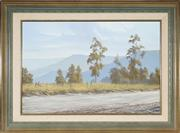 Sale 8961 - Lot 2040 - Gary Laird (1955 - ) - On the Road to Kangaroo Valley 49 x 74 cm (frame: 70 x 96 x 6 cm)