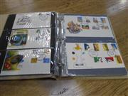 Sale 7943A - Lot 1604 - Blue Binder Australian First Day Covers