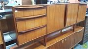 Sale 8395 - Lot 1078 - Superb McIntosh Rosewood Sideboard