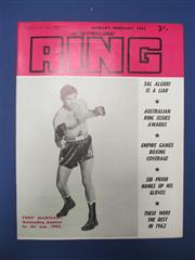 Sale 8419A - Lot 68 - The Australian Ring - complete set of 6 years worth, plus 2 sets of Jimmy Carruthers Souvenir Course