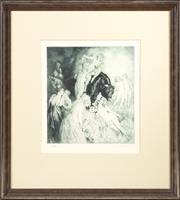 Sale 8489A - Lot 88 - Norman Lindsay - Have Faith 27 x 25cm