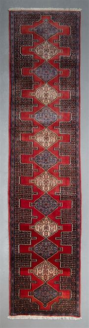 Sale 8493C - Lot 56 - Persian Bijar 381cm x 89cm