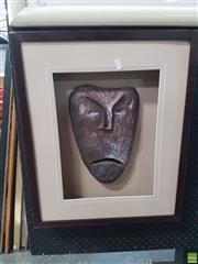 Sale 8573 - Lot 2056 - Artist Unknown, Mask, 30x20cm,