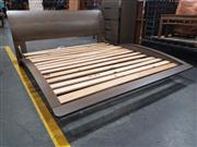 Sale 8868 - Lot 1580 - Modern King Sleigh Bed Frame