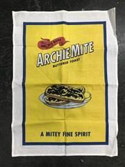 Sale 8996W - Lot 771 - Archie Rose Distillery Archiemite Tea Towel