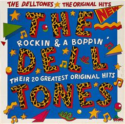 Sale 9157S - Lot 5032 - MARTIN SHARP (1942 - 2013) The Delltones: Rockin & a Boppin - Their 20 Greatest Original Hits vinyl cover and (1) LP record DIN080 . .