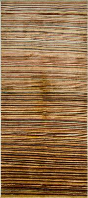 Sale 8338C - Lot 82 - Afghan Chobi Stripi 186cm 80cm