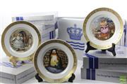 Sale 8490 - Lot 283 - Royal Copenhagen Collection Of Cabinet Plates