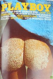 Sale 8568 - Lot 20 - Australian Playboy Collection in Album 1981