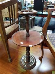 Sale 8580 - Lot 1056 - Smokers Table