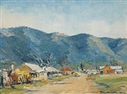 Sale 8633A - Lot 5064 - Rex Newell (1939 - 2016) - North Araluen, Southern Tableland 1967 34 x 44cm