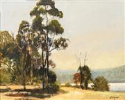 Sale 8674 - Lot 2031 - Doug Crozier - Manly Dam 29 x 39cm