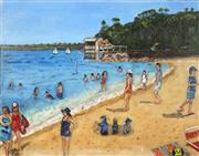 Sale 8704A - Lot 5014 - Stanley Perl (1942 - ) - Camp Cove 40 x 51cm