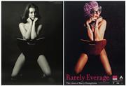 Sale 8822A - Lot 5023 - Lewis Frederick Morley (1925 - 2013) (2 works) - Christine Keeler & Dame Edna 78.5 x 58cm, each