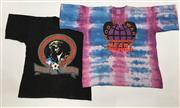 Sale 8893M - Lot 52 - Set of Three Rod Stewart Vagabond Heart Tour 1992 Tee Shirts, both size L (double of tiedye)