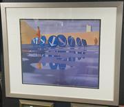 Sale 9058 - Lot 2050 - Jeffery Smart Reflected Arrows frame: 88 x 106 cm, unsigned -