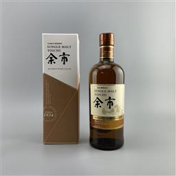 Sale 9165 - Lot 630 - Nikka Whisky Yoichi - Bourbon Wood Finish Single Malt Japanese Whisky - 2018 limited edition, 46% ABV, 700ml in box