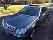 Sale 8375V - Lot 10 - 2006 Mercedes E280 Elegance Sedan                                       Reg No: BZK-89W...