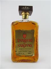 Sale 8439W - Lot 787 - 1x Amaretto di Saronno Almond Liqueur, Italy - old bottling